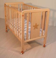 Cuna de bebe de madera Blasi Bed Estrella natural [130P NATURAL] | 149,95€ : La tienda online para tu peke | tienda bebe pekebuba.com