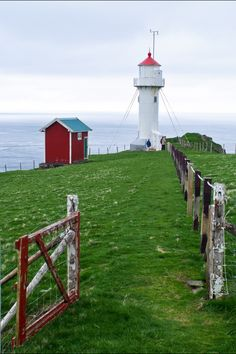 Lighthouse at Akraberg, Faroe Islands
