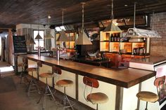 These are NYC's 16 best beer bars-What do you think of these lights and bar stools?