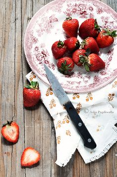 Nothing says summer like some strawberries.