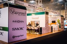 Vision Exhibition stand for Vaporized Exhibition Stand Design, Display, Building, Floor Space, Exhibition Stall Design, Billboard, Buildings, Architectural Engineering