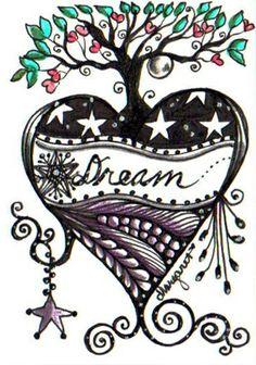 SUMMER HEART DREAM by Margaret Storer-Roche, via Flickr