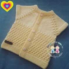 Knitting For Kids, Baby Knitting Patterns, Knit Vest, Tulum, Crochet Baby, Knitwear, Kids Fashion, Sweaters, Clothes