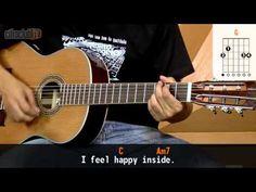 I Want To Hold Your Hand - The Beatles (aula de violão simplificada)