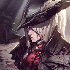 Lady Maria арт, Игры, Bloodborne, Lady Maria
