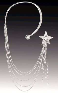 Chanel 1932 Collection – Etoile Filante Necklace – House of Chanel (French, founded 1913) – Design by Gabrielle 'Coco' Chanel