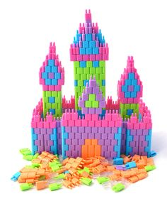 Look at this Pinblock Pinblock Pastel Building Kit on today! Christmas 2015, Christmas Ideas, Building Toys, Pastel, Invitations, Kit, Kid Stuff, Clothing, Baby