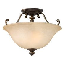 View the Hinkley Lighting 4591 Traditional / Classic Two Light Semi Flush Mounted Ceiling Fixture from the Dunhill Collection at LightingDirect.com.