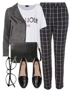 """""""Untitled #5018"""" by laurenmboot ❤ liked on Polyvore featuring Topshop, MANGO, rag & bone and H&M"""