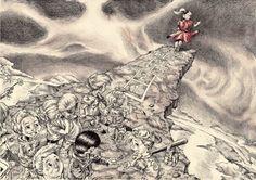 'Follow The Leader' (KoRn album cover) 15/08/12, Pen & Pencil