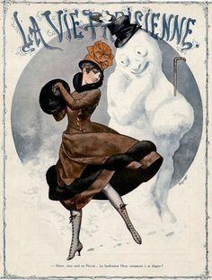 Magazine cover: La Vie Parisienne, December 1916