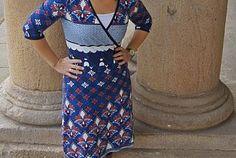 Wickelkleid aus Grand Marrakesch