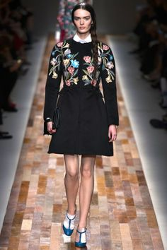 Moody Blooms florals autumn/winter 2013 trend (Vogue.com UK) Valentino