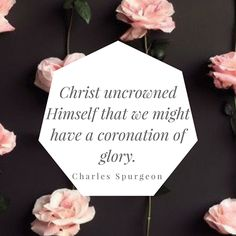 Christ would not sit upon His own throne until He had procured a place upon it for all who overcome by His blood… Christ deems His happiness completed by His people sharing it. From today's Daily Good News... https://www.goodnewsunlimited.com/resources/daily-devotionals/