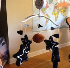 NFL Dallas Cowboys Football Baby Crib Mobile | eBay: the perfect nursery for my husbands son!