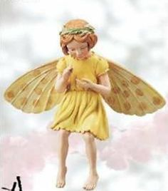 Retired Cicely Mary Barker Tansy Flower Garden Fairy Ornament Figurine   eBay