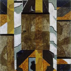 Zonder titel - A. Houtman - 1987  Maat: 75,5cm x 76cm  Materiaal: olieverf op doek  Inventarisnummer: K88112