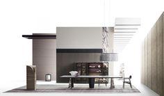 New 2020 advertising campaign: Object to project - Giorgetti Ad Design, Layout Design, Design Trends, Decor Interior Design, Interior Decorating, Presentation Board Design, Cool Kids Rooms, Bed Table, Collage Design