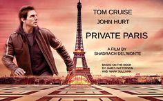 Private Paris - #TomCruise #JohnHurt #JamesPatterson From The Films That Never Were. https://www.facebook.com/Shadrachart