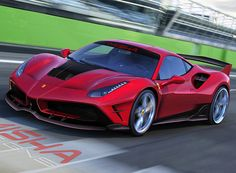with its hands finally on the '488', it has started the development of what it promises to be 'an even better looking kit'.