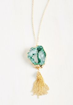 It's Sedimentary, My Dear Necklace. Have an apatite for stylish accessories and dont know where to turn?  #modcloth