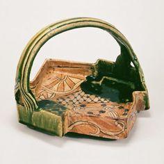 Oribe Ware Momoyama Period。Kitamura Collection Kyoto