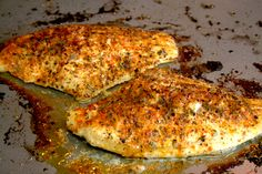 Blackened Baked Catfish..