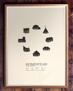 HOMESTEAD print by Beauchamping. $75