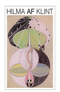 Hilma af Klint – Kundskabens træ, nr. Hilma Af Klint, Object Drawing, Poster Prints, Art Prints, Graphic Design Posters, Art Techniques, Art Inspo, Art Lessons, Illustrations Posters