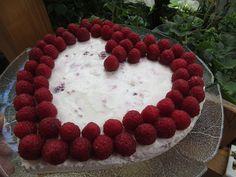 Málnás joghurttorta kekszes alapon I Balkonada sütemény recept
