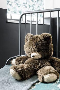 #rollerblind #rullegardin #barnerom Kidsroom, Teddy Bear, Sleep, Fancy, Curtains, Toys, Interior, Trends, Animals