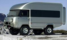 UAZ Camper Body retrofit