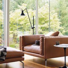 Leather Como Armchair