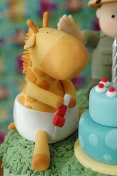 The Cupcake Gallery Blog: Jungle Safari