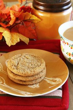 Soft Ginger Molasses Cookies| Sugarcrafter