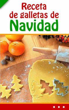 Receta de galletas de Navidad. ¡Fácil! Best Christmas Cookies, Christmas Goodies, Christmas Time, Cookie Desserts, Cookie Recipes, Cake Cookies, Cupcake Cakes, Pan Dulce, Mini Cheesecakes