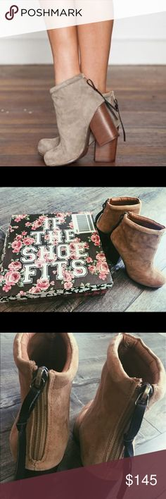 Jeffery Campbell rumble booties Brand new ! Jeffrey Campbell Shoes Ankle Boots & Booties