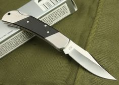 High Quality OEM Kershaw Skinning Knife with Stainless Steel + Ebony Handle Skinning Knife, Chef Knife, Knives And Swords, Cool Tools, Oem, Blade, Handle, Stainless Steel, Knifes