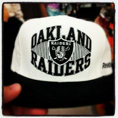 "@edthesportsfan's photo: ""Raiders cap for MNF, lets rock."""