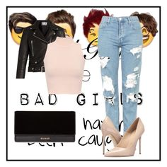 """""""Untitled #81"""" by perlahak on Polyvore featuring Acne Studios, WearAll, Topshop, Massimo Matteo and Balmain"""