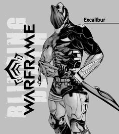 Excalibur with Nikana Prime #warframe