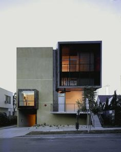 Brooks + Scarpa Architects - Orange Grove, West Hollywood, California, USA #house #housing #residential