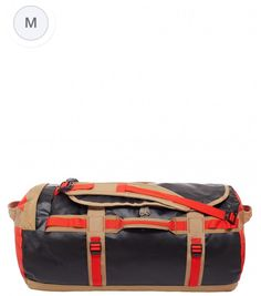 The North Face Base Camp Duffel Reisetasche - Gröβe M Fiery Red/TNF Black