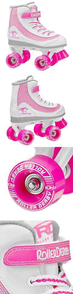 Youth 71156: New Roller Derby Firestar Girls Roller Skates - Pink Size 4 Model:23071828 -> BUY IT NOW ONLY: $34.99 on eBay!