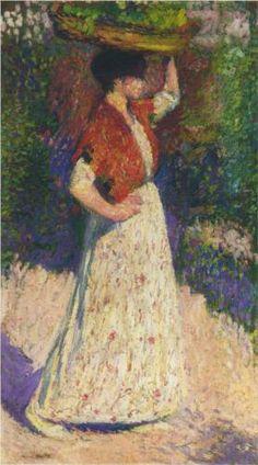 Vintaging Girl - Henri Martin