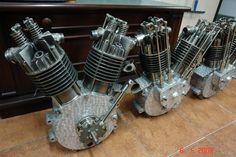 3 Pope motors