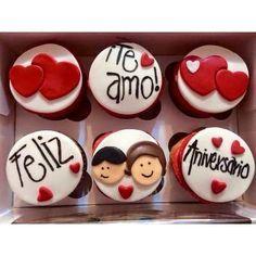 cupcakes aniversario de enamorados - Buscar con Google