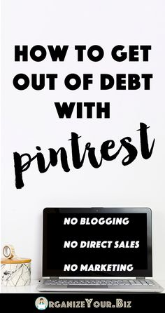 How to work from home on Pinterest and make REAL money, without a blog! How To Manage Money, Make To Sell, Make Side Money, Make Real Money, Make Money Today, Money Fast, Make Quick Money, Big Money, Make Money Blogging