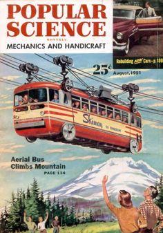 Como algumas revistas da década de 50 previam o futuro!