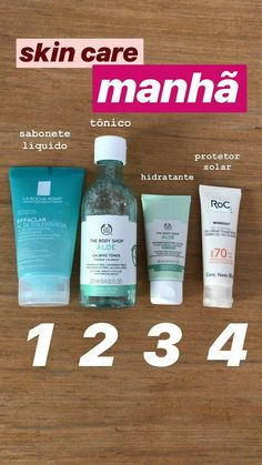 Esse protetor solar é super oleoso! Skin Care Spa, Face Skin Care, Oily Skin Care, Hair And Beauty, Beauty Skin, Skin Routine, Healthy Skin Care, Tips Belleza, How To Make Hair